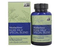 More Milk Special Blend Lactation Support - 120 Liquid Capsules by Motherlove (妈咪乐哺)